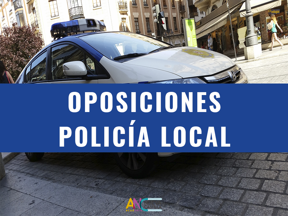 POLICÍA LOCAL EN BURGOS